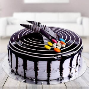 Choco Vanilla Cake - Online Cake Delivery in Karnal