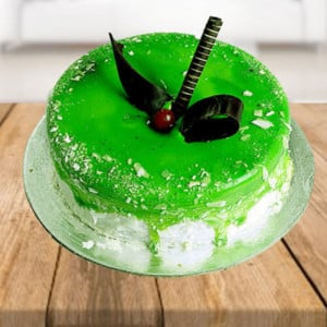 Kiwi Layered Cake - Online Cake Delivery in Faridabad