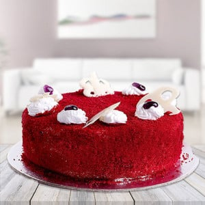 Red velvet Cake - Marriage Anniversary Gifts Online