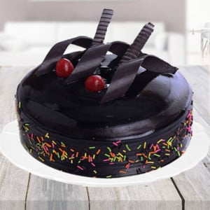 Rich Chocolate Truffle Cake - Send Eggless Cakes Online