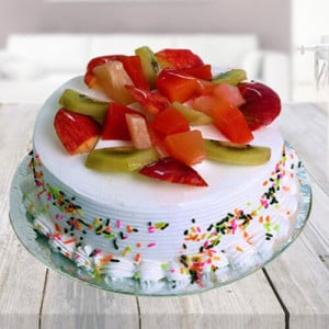 Fresh Fruit Cake - Online Cake Delivery In Dera Bassi