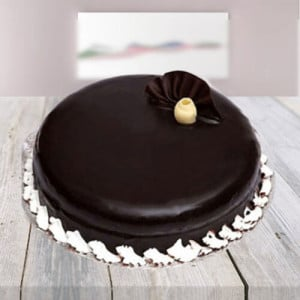 Dark Chocolate Cake - Send Eggless Cakes Online