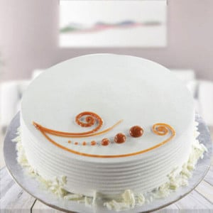 Vanilla Cake - Birthday Cake Delivery in Noida