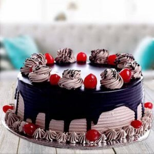 Coffee Chocolate Cake - Anniversary Cakes Online