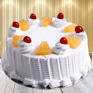Pineapple Cake - Send Mother's Day Cakes Online
