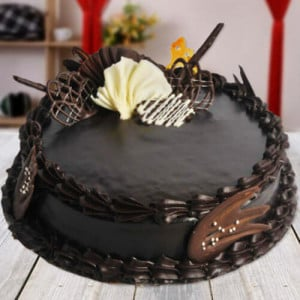 Sinful Chocolate Cake - Send Chocolate Truffle Cakes Online
