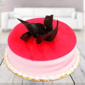 Strawberry Cake - Send Eggless Cakes Online