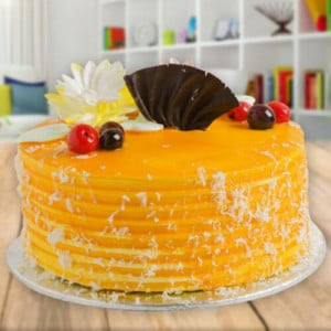 Mango lover Cake - Online Cake Delivery in Karnal
