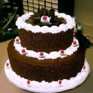 2 Tier Cake - Send Black Forest Cakes Online