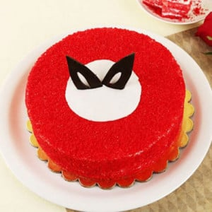 Magical Red Velvet Cake - Birthday Cake Delivery in Noida