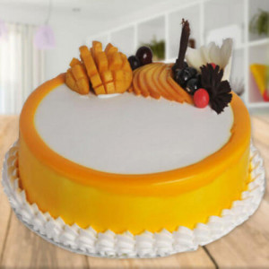 Yummylicious Mango Cake - Send Mother's Day Cakes Online