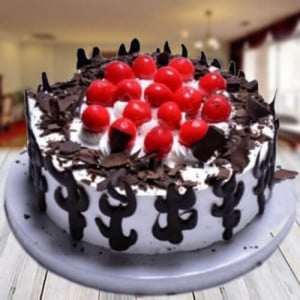 Delightful Black Forest Cake - Online Christmas Gifts Flowers Cakes