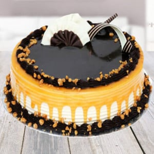 Carmell Chocolate Cake - Birthday Gifts Online