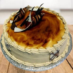 Irish Coffee Cake - Send Eggless Cakes Online