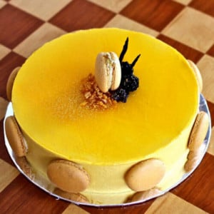 Delicious Mango Cake - Cake Delivery in Hisar