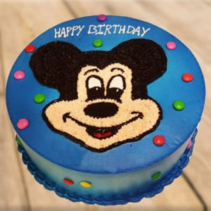Clever Mickey Mouse Cake - Send Black Forest Cakes Online