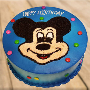 Clever Mickey Mouse Cake - Marriage Anniversary Gifts Online
