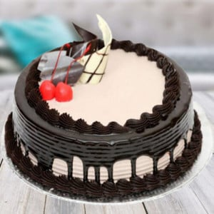 Chocolate Cream Gateaux Cake - Send Eggless Cakes Online