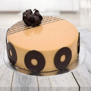 Hazelnut Cappuccino Cake - Birthday Cake Delivery in Noida