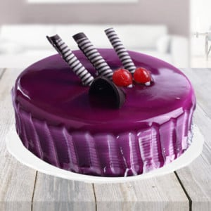 Black Currant Cake - Online Cake Delivery In Dera Bassi