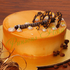 Coffee Addiction Cake - Online Cake Delivery In Jalandhar