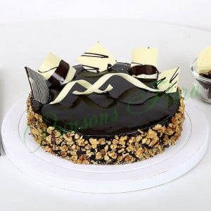 Chocolate Walnut Truffle Eggless - Online Cake Delivery in India