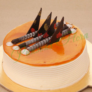 Blonde Caramel Cake - Send Party Cakes Online