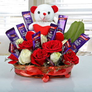 Astonishment Arrangement - Send Flowers to Jalandhar