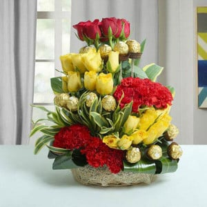 Chocolate Fantasy - Online Flowers Delivery in Zirakpur