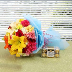 Grace N Beauty - online flowers delivery in dera bassi