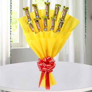 Cadbury Star Bouquet - Anniversary Chocolates