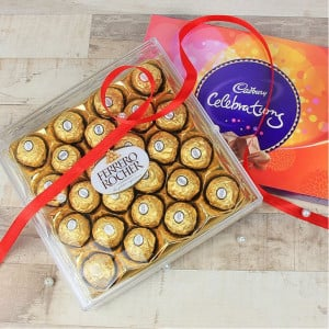 Ferrero Rocher Celebrations - Kiss Day Gifts Online