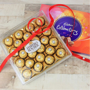 Ferrero Rocher Celebrations - Promise Day Gifts Online
