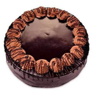 Chocolate Truffle Light Cake - Send Chocolate Truffle Cakes Online