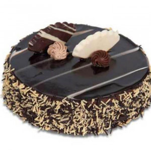 Chocolate Truffle Linear Cake - Send Chocolate Truffle Cakes Online