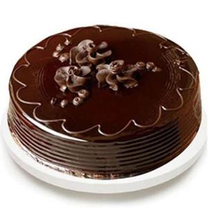 Round Special Chocolate Truffle Cake - Send Chocolate Truffle Cakes Online