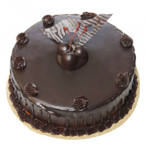 Cream Chocolate Truffle Cake - Send Chocolate Truffle Cakes Online