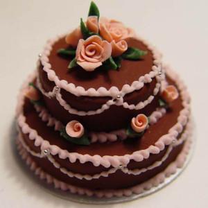Round Shape Choco Cake - Send Chocolate Truffle Cakes Online