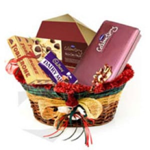 Chocolate Gift Basket - Birthday Gift Ideas For Her - Mothers Day Gifts Online