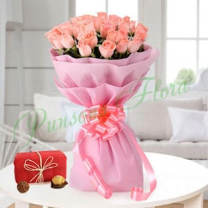 Orchid Flower Combo - Send Flowers and Chocolates Online