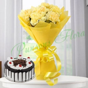 Bene Combo - Flowers and Cake Online