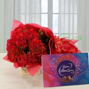 Bloom in Love - Anniversary Chocolates
