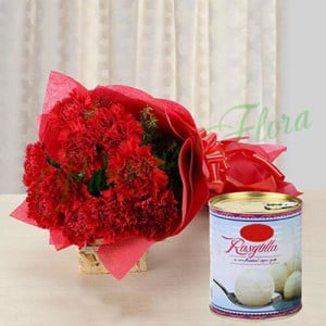 Carnation Glee - Send Diwali Sweets & Dry-fruits Online