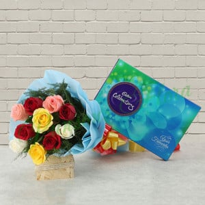 Ceremonies with Roses - Send Diwali Flowers Online