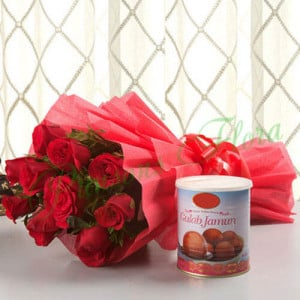 Charm of Love - Send Diwali Flowers Online