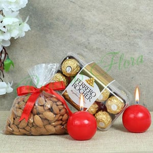Choco Combo - Online Christmas Gifts Flowers Cakes
