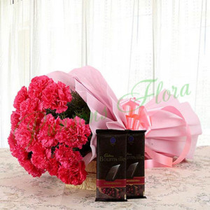 Combo of Appreciation - Send Flowers and Chocolates Online
