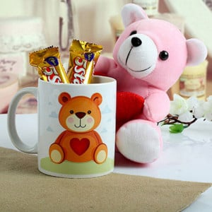 Cute n Sweet Hamper - Online Flower Delivery in Gurgaon
