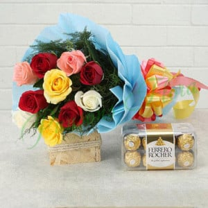 Heartfelt Wishes - Anniversary Flowers Online