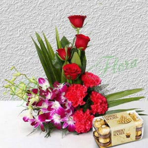 Inspiration Premium - Send Diwali Flowers Online